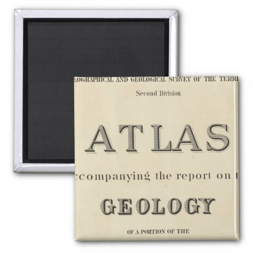 Title Page Atlas accompanying the report Magnet
