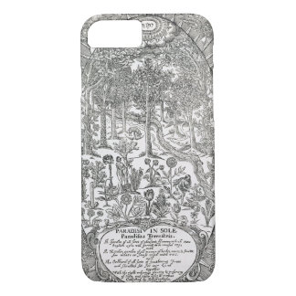 Title page from 'Paradisi Sole; Paradisus Terrestr iPhone 7 Case