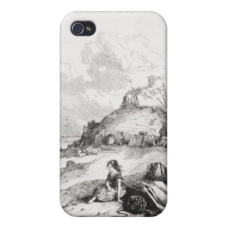 Title page illustration from 'David iPhone 4 Cases