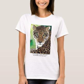 Title: Shining Through The Jungle (Leopard print) T-Shirt