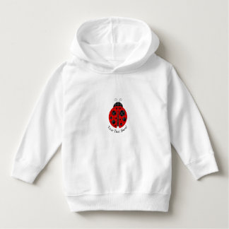 TitleAdorable Checkered Plaid Ladybug Graphic Patt Hoodie