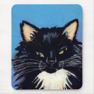 Titled:  Grumpus Needs More Snuggle Time CAT ART Mouse Pad