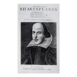 Titlepage, 'Mr. William Shakespeares Poster