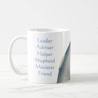 Titles of a Pastor, Seashell Template Coffee Mug