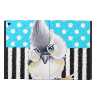 Titmouse Blue Polka Dot iPad Air Covers