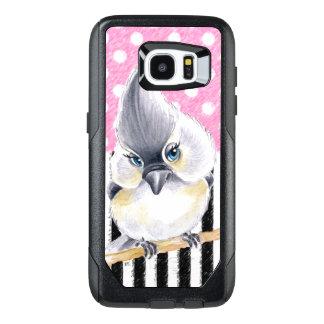 Titmouse Pink Polka Dot OtterBox Samsung Galaxy S7 Edge Case