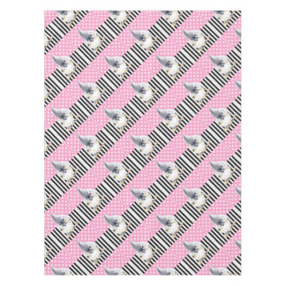 Titmouse Pink Polka Dot Tablecloth