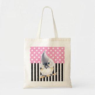 Titmouse Pink Polka Dot Tote Bag