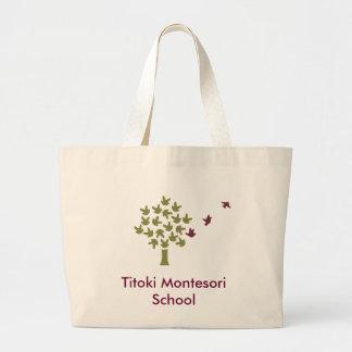 Titoki Montessori School Jumbo Tote Bag