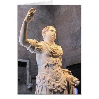 Titus Flavius Vespasianus- Roman Emperor Card