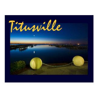 Titusville, Florida, U.S.A. Postcard
