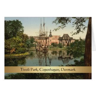 Tivoli Park, Copenhagen, Denmark Card