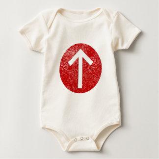 Tiwaz Rune Baby Bodysuit