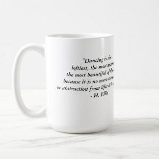 TJ Dancing Coffee Mug