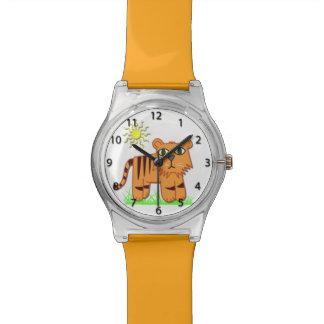 TJ the Tiger Cute Kid's Wrist Watch