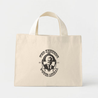 TK Power Animal Tote Bag - Black Ink
