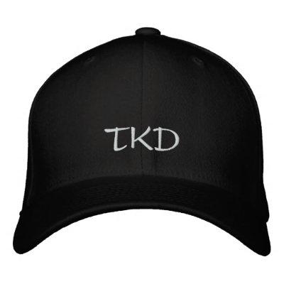 TKD Hat Embroidered Baseball Caps
