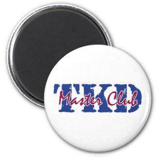 TKD - Master Club 2 Inch Round Magnet
