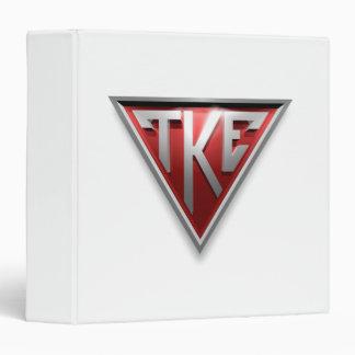 TKE Triangle Vinyl Binders