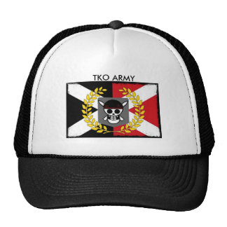 TKO ARMY Pirate Baseball Cap Trucker Hat