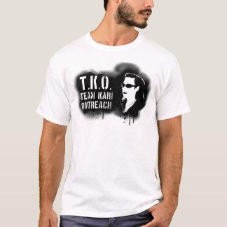 TKO - Black Stencil T-Shirt