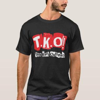 TKO:  Old Punk Style Black T-Shirt