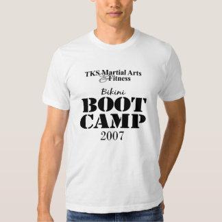 TKS Martial Arts & Fitness Bikini Boot Camp 2007 T-shirt