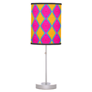 TL - 007 - Orange and Magenta - Table Lamp