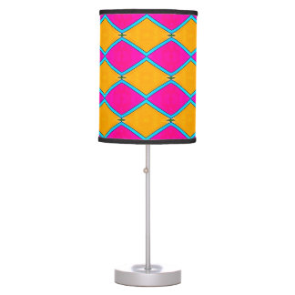TL - 011 - Orange and Magenta Table Lamp