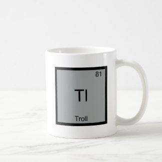 Tl - Troll Funny Element Meme Periodic Chemistry Classic White Coffee Mug