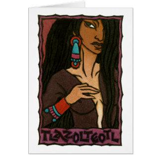 Tlazolteotl Greeting Card