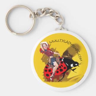 TLB Cowgirl/Bucking Bug Keychain