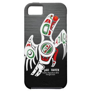 Tlingit Raven Design Case For The iPhone 5