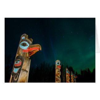 Tlingit Totem Poles Card