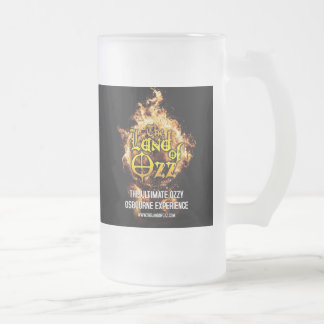 TLOO 'Flaming Earth' 16oz. Frosted Beer Mug