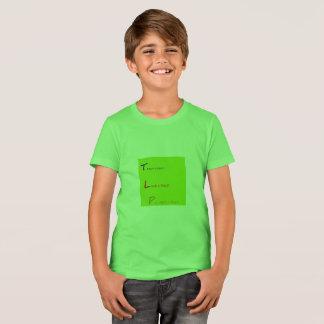 TLP teach love protect a child CANVAS GREEN TSHIRT