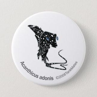 TM-09-Acanthicus adonis 3 Inch Round Button