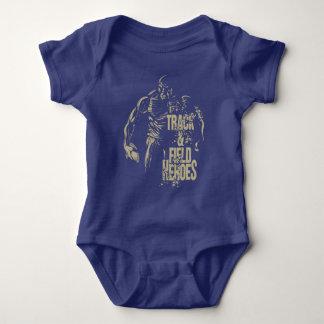 tnf heroes discus baby bodysuit