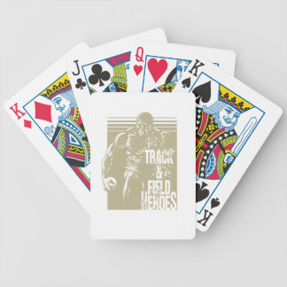 tnf heroes shot put bicycle playing cards