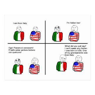 TNIT Postcard (Rage Comic Italy)