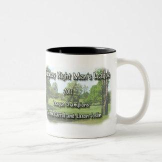TNML. 2011 champs Derek Two-Tone Coffee Mug