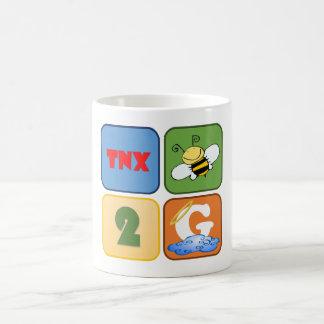 Tnx Bee 2 God Coffee Mug