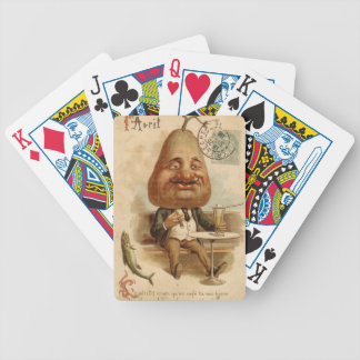 to 1er April to pear Poker Deck
