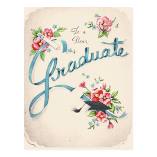 To A Dear Graduate Postcard