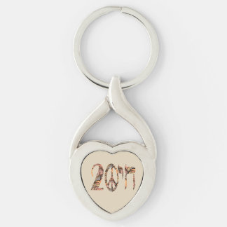 To a Peaceful Life Keychain