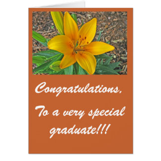 To a very special graduate... - Customized Card
