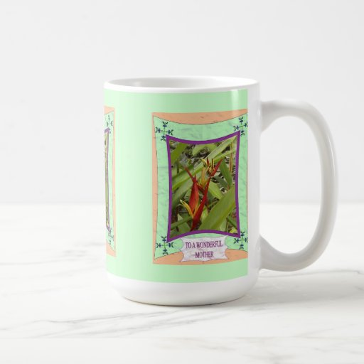 To a wonderful mother 3 coffee mugs