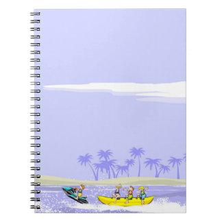 To all diversion in a boat banana notebook