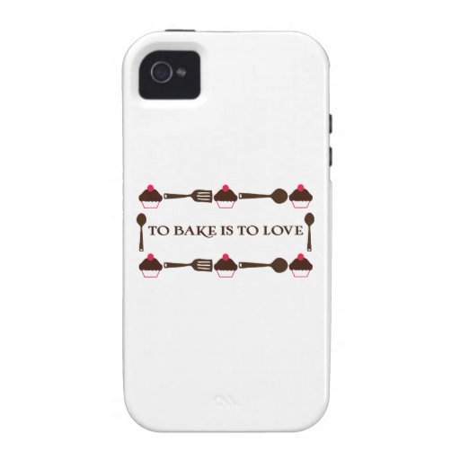 To Bake Is To Love iPhone 4/4S Covers