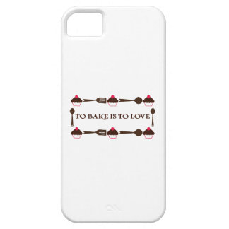To Bake Is To Love iPhone 5 Cover